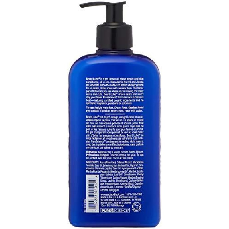 Jack Black Beard Lube Conditioning Shave 16 Fl Oz - dilutee.com