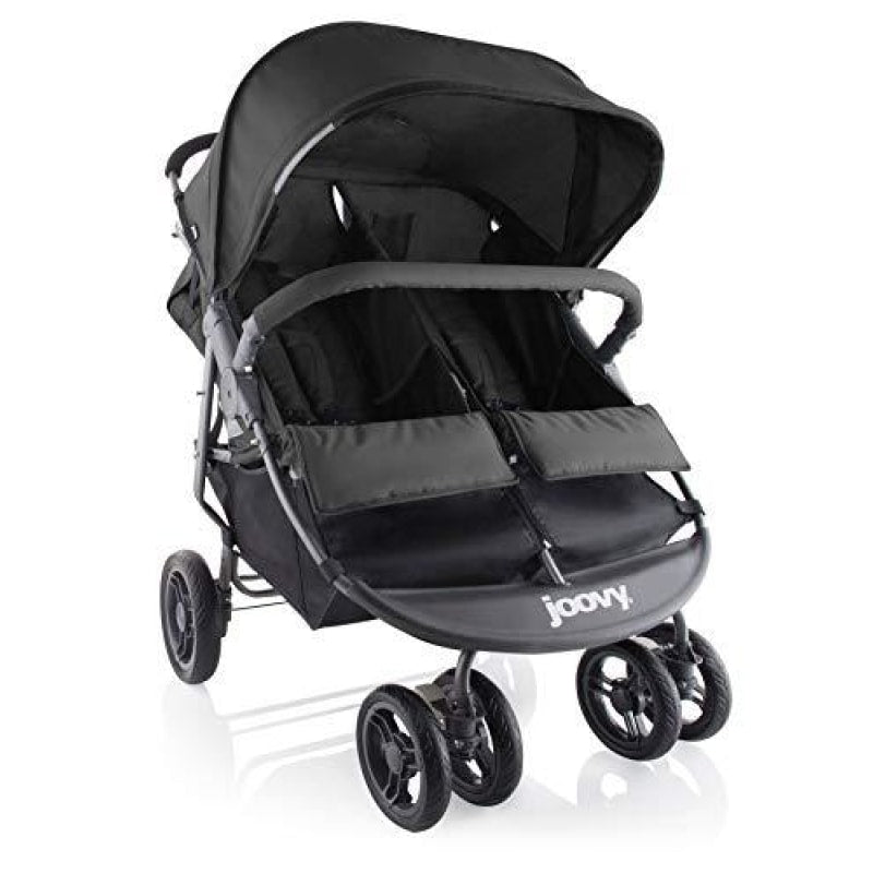 Joovy Scooter X2 Double Stroller Black - dilutee.com