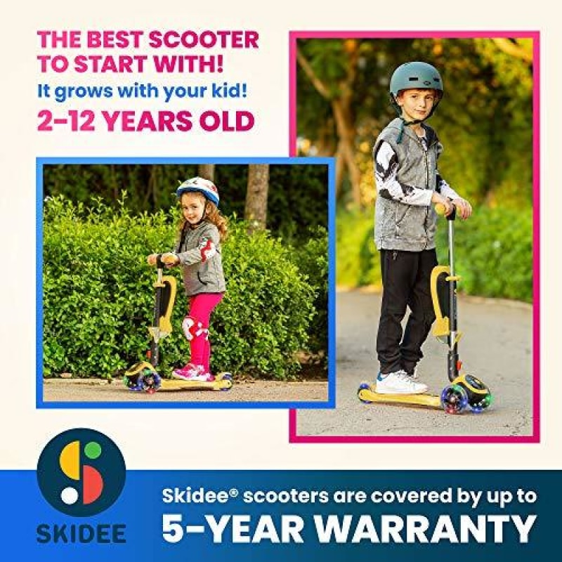 Kids Scooter With Seat - dilutee.com