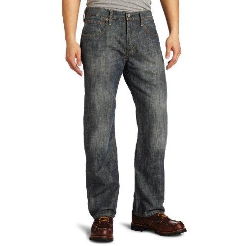 Levi's Men's 569 Loose Straight Fit Jean Static 42W x 30L - dilutee.com