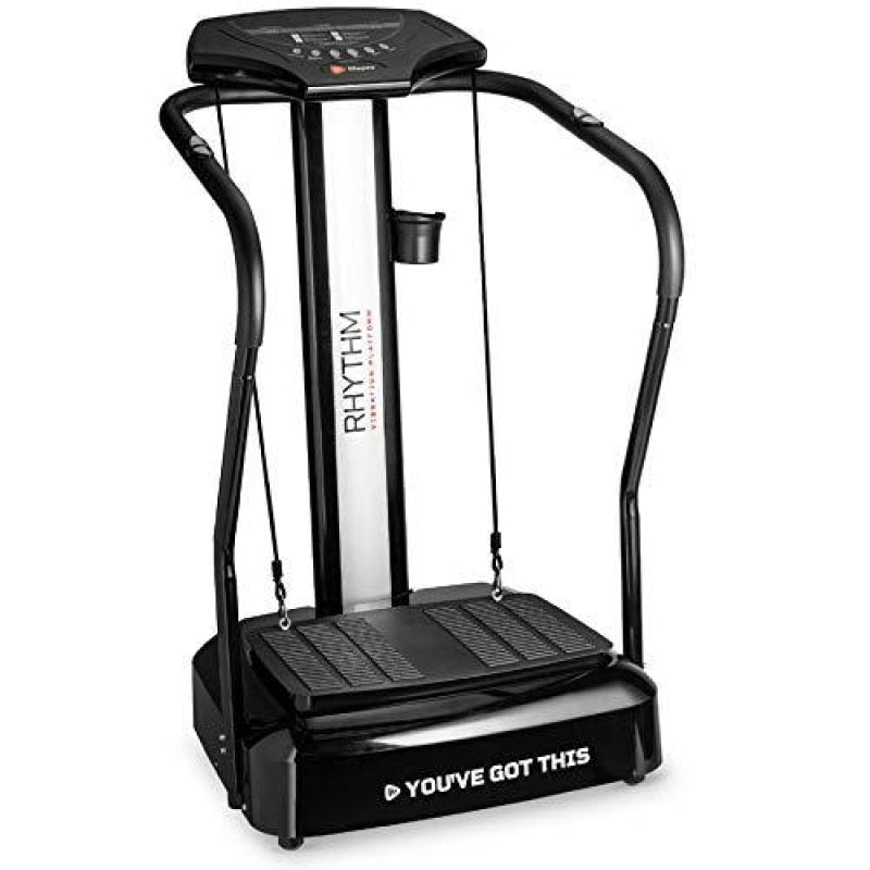 LifePro Rhythm Viberation Plate Machine - Professional Whole Body Vibration Platform for Home Fitness - Viberation Excersize Machine for