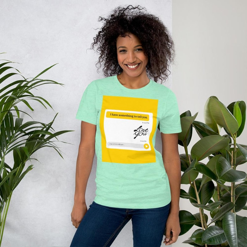 Love You T-Shirt - dilutee.com