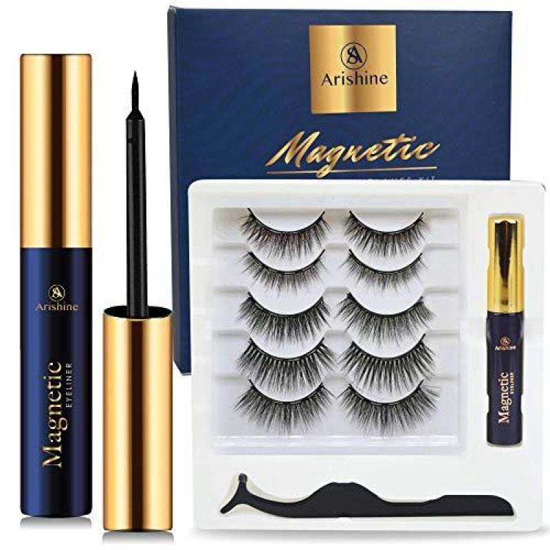 Magnetic Eyelashes and Eyeliner Kit