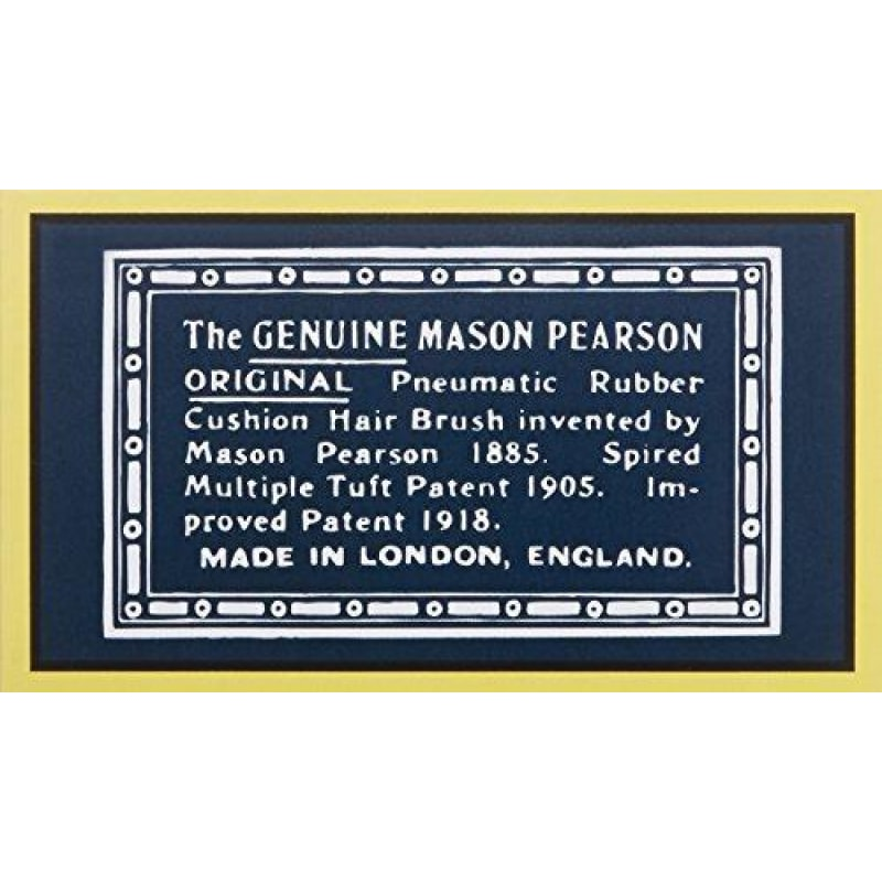 Mason Pearson Popular Hair Brush Ruby - dilutee.com