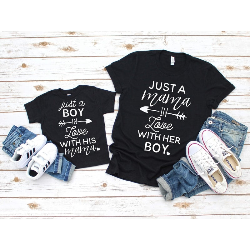 Mommy and Me Shirt Set