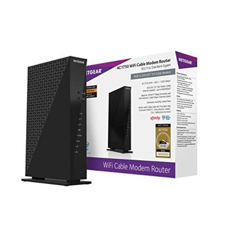 NETGEAR WiFi Cable Modem Router - dilutee.com