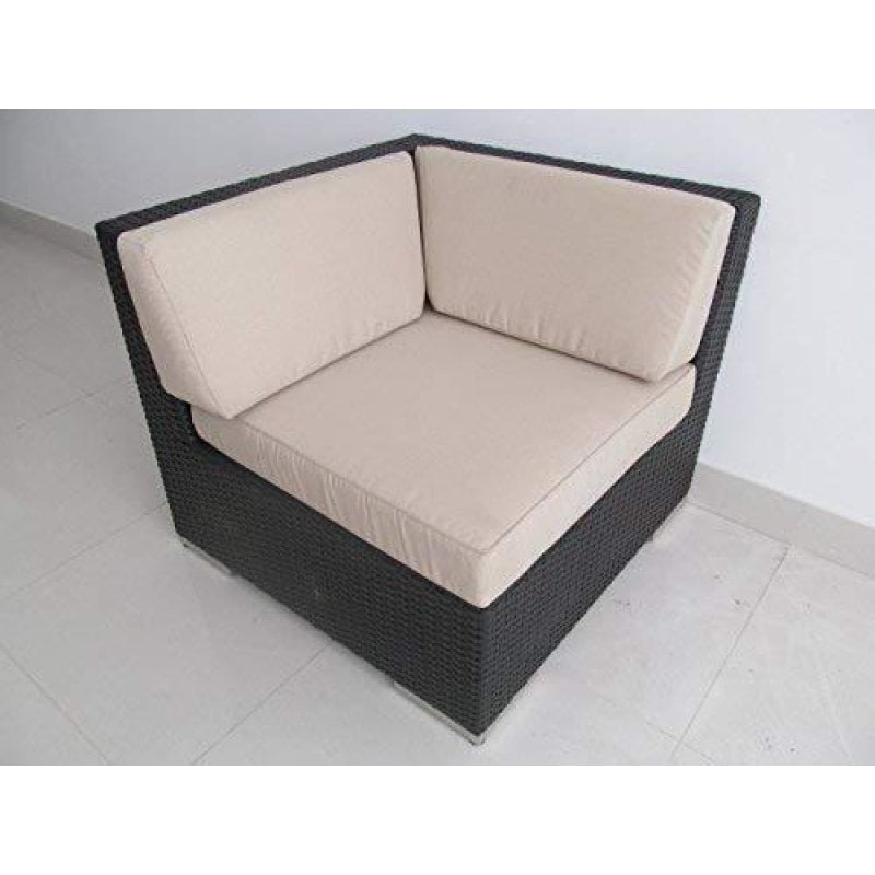 Outdoor Sofa With Cushions - dilutee.com