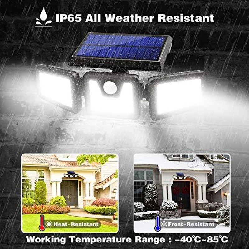 Outdoor Solar Security Lights - dilutee.com