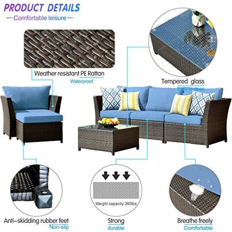 Outdoor Wicker Furniture Sets - dilutee.com
