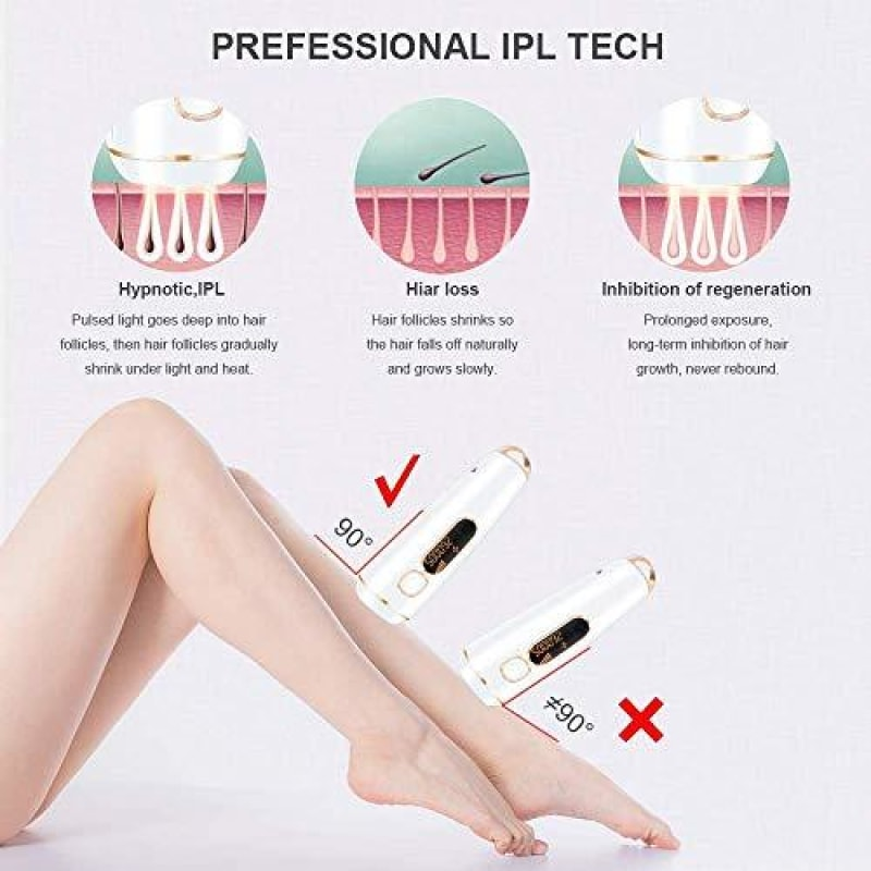 Painless Body Hair Removal Device - dilutee.com