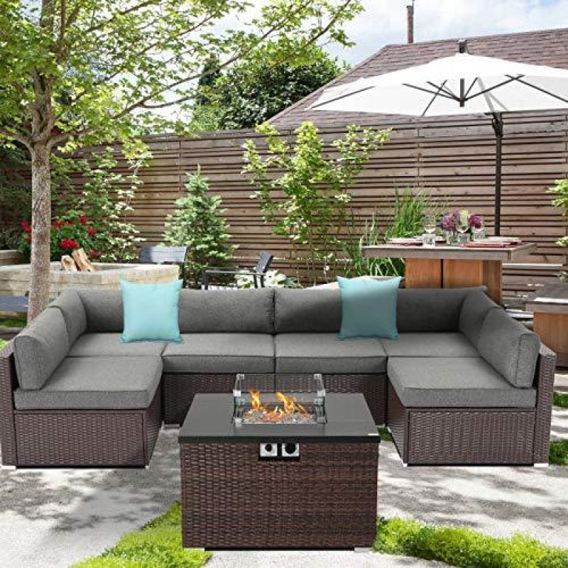 Patio Furniture Set With Fire Pit - dilutee.com