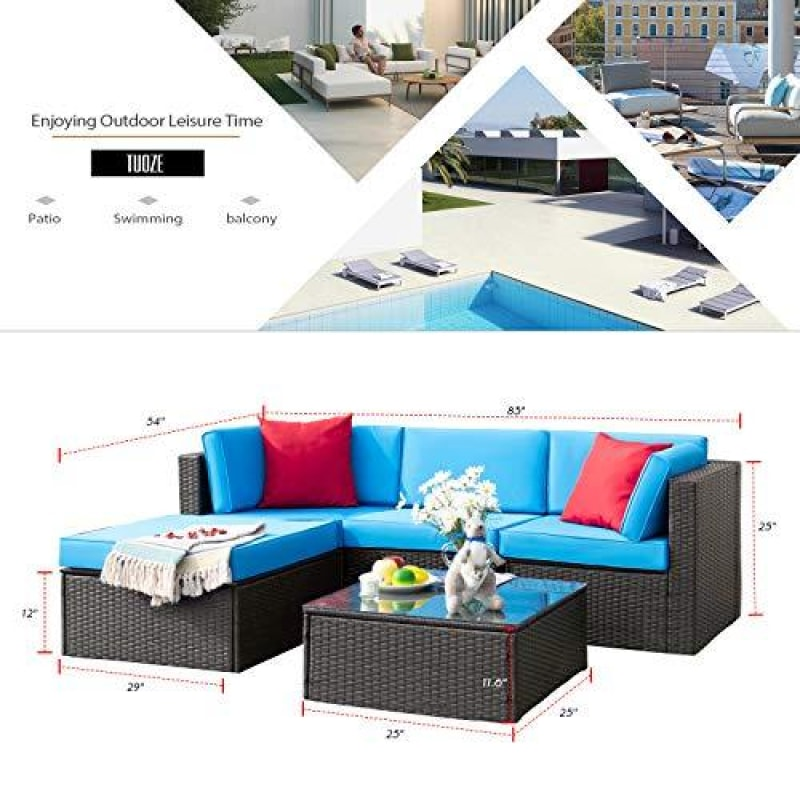 Patio Wicker Furniture Set - dilutee.com