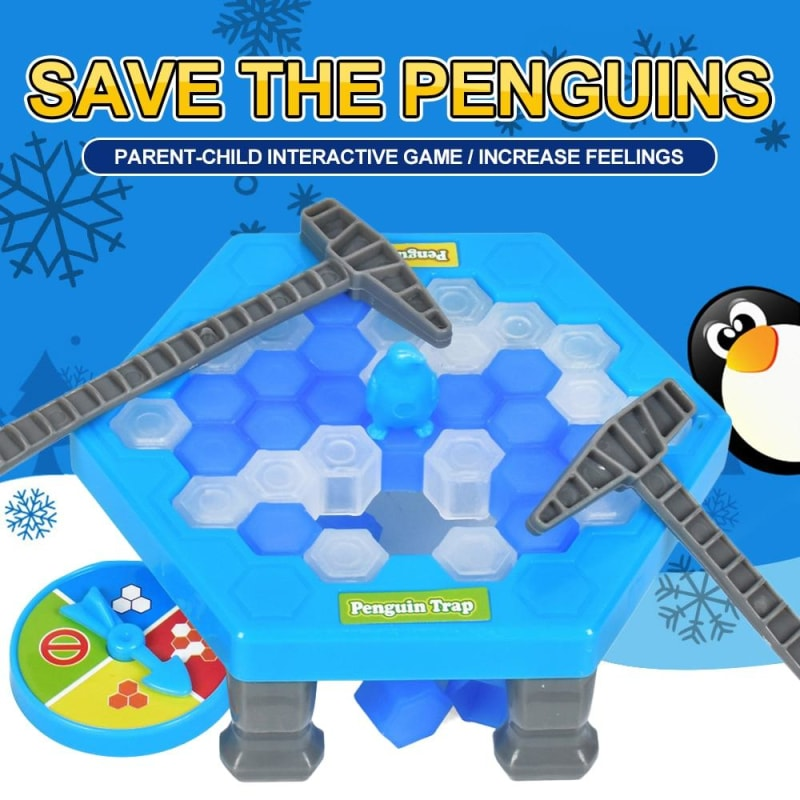 Penguin Trap Board Game For Kids