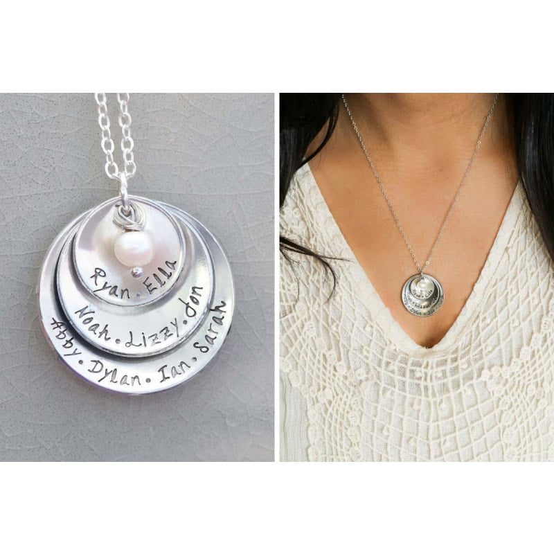 Personalized Grandmother Necklace - dilutee.com