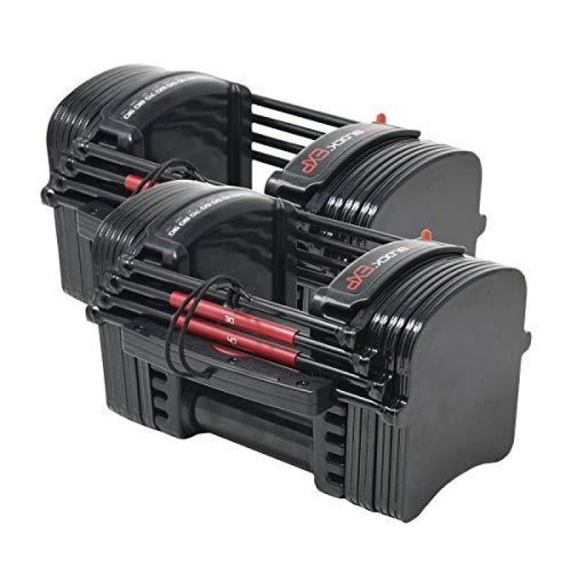 PowerBlock EXP Stage 1 Adjustable Dumbbell Set (1 pair) - dilutee.com