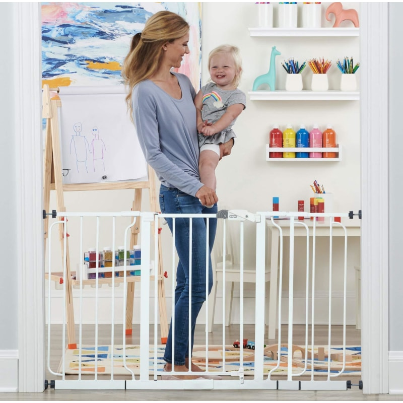 Pressure Mounted Baby Gate Extra Wide