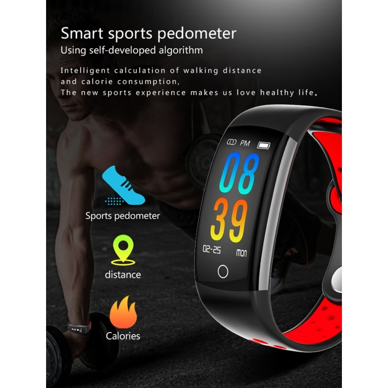Q6 Smart Fitness Tracker - dilutee.com