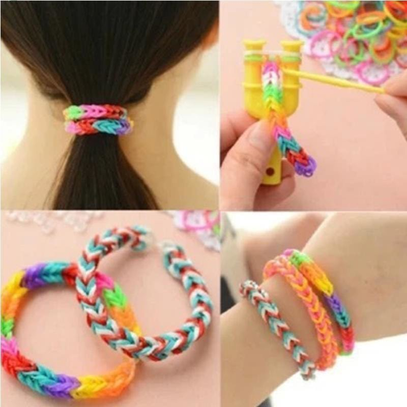 Rainbow Loom Bracelet For Kids (DIY)