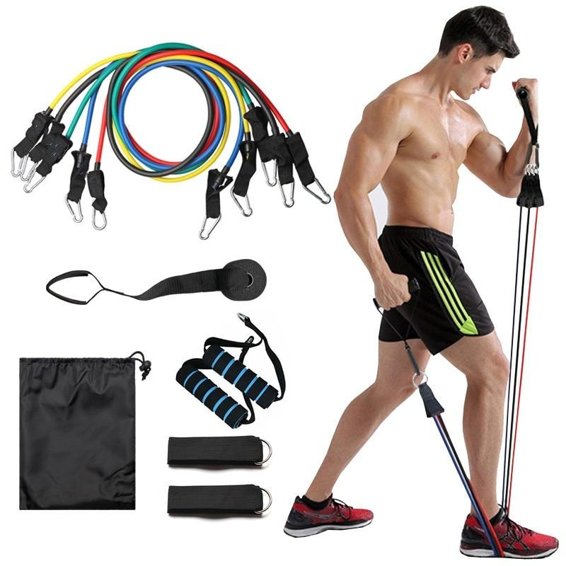 Resistance Bands For workout (11 Pcs Set) - dilutee.com