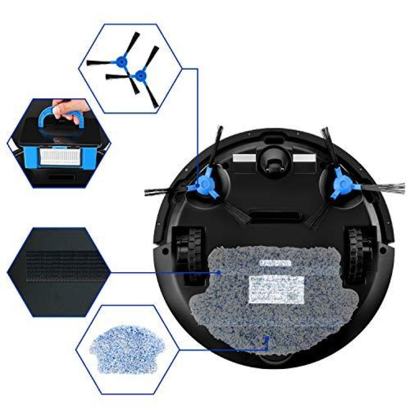 Robot Vacuum With Mapping - dilutee.com