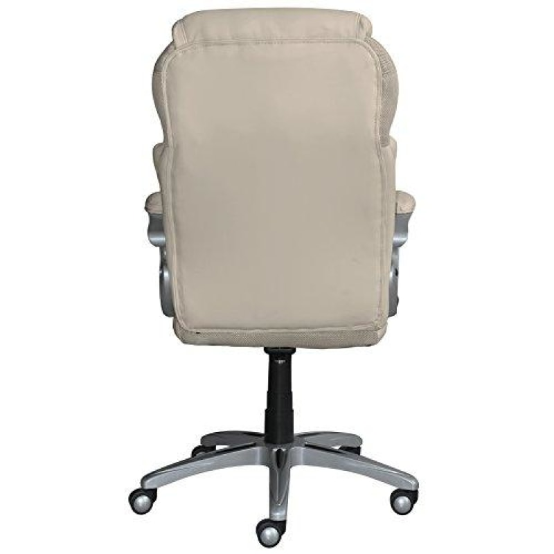 Serta AIR Health and Wellness Executive Office Chair High Back Big and Tall Ergonomic for Lumber Support Task Swivel Bonded Leather