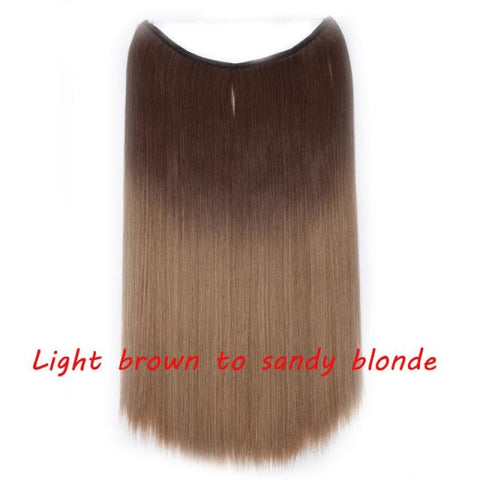 Silky Straight Hair Extensions_dilutee.com
