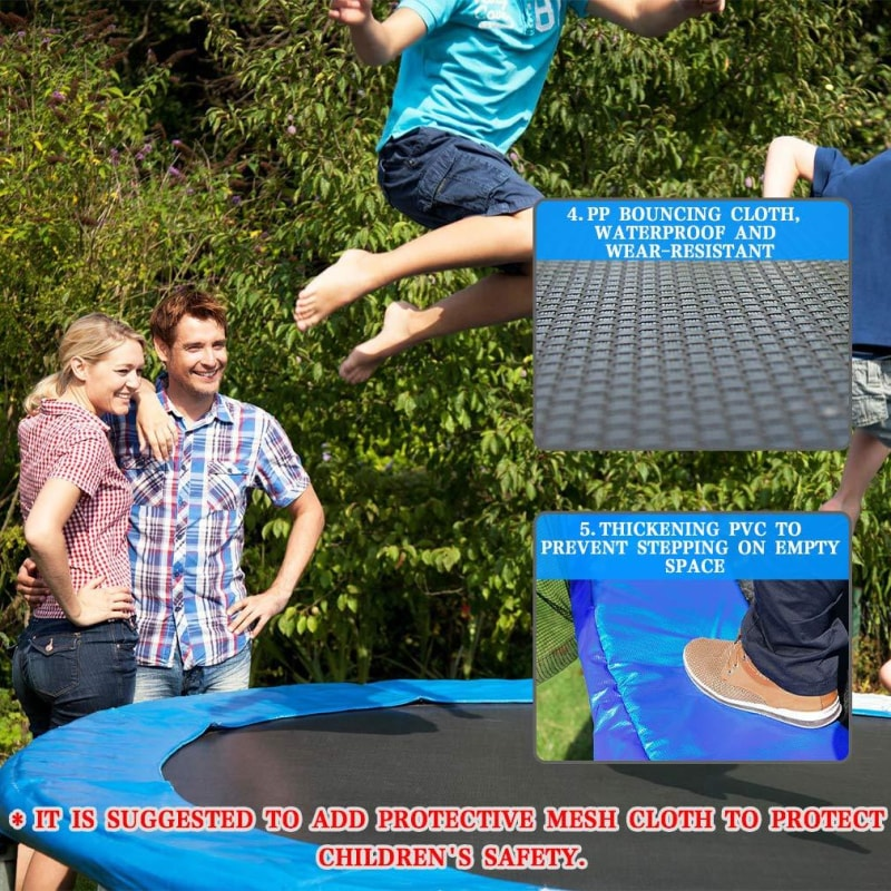 Trampoline With Net for Kids - dilutee.com