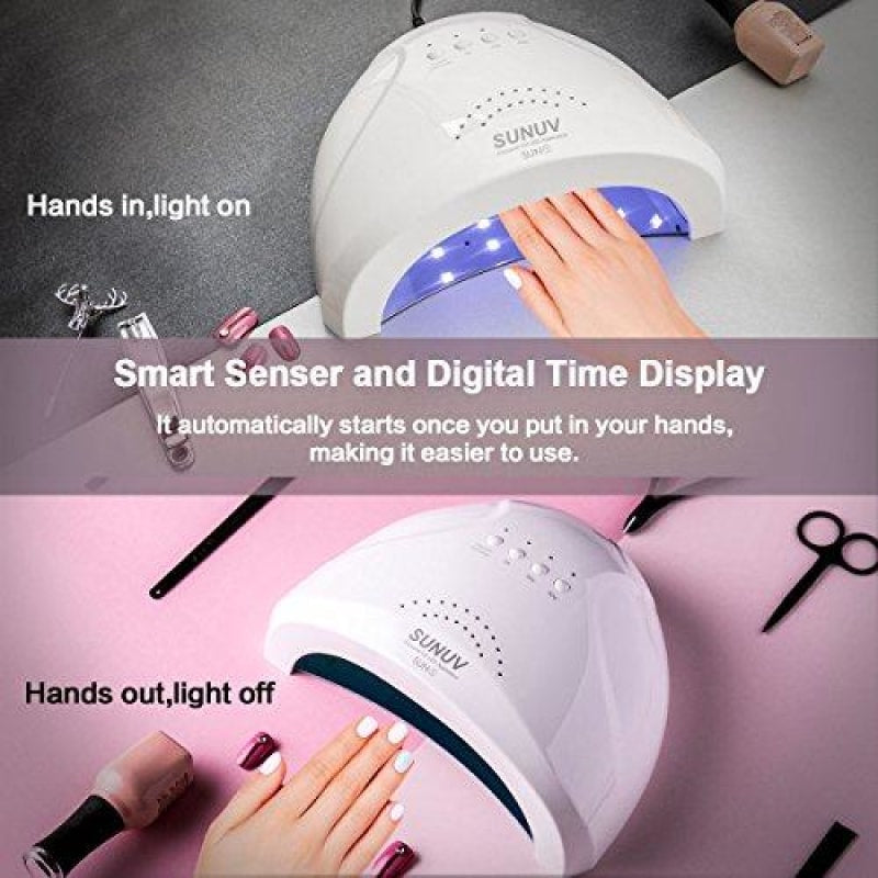 UV Gel Lamp For Nails - dilutee.com