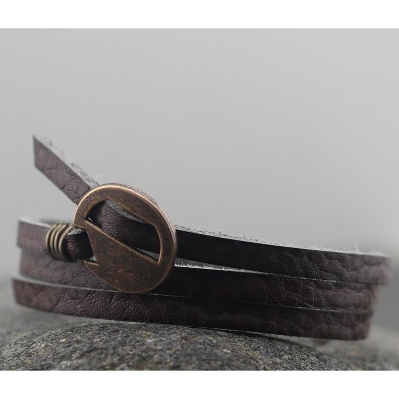 Vintage Multi-layer Wrap Leather Bracelet - dilutee.com