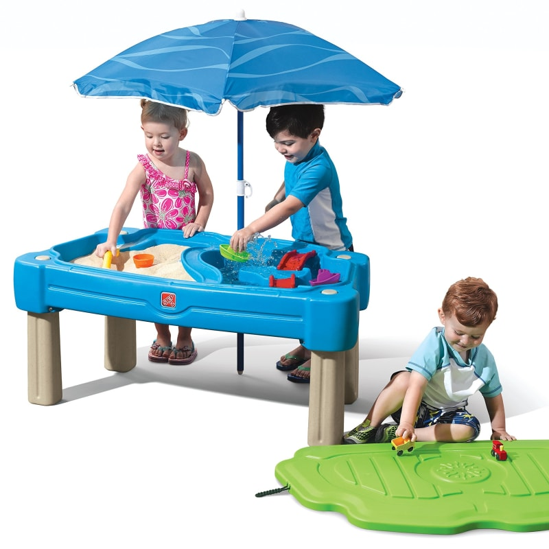 Water Table With Umbrella - dilutee.com