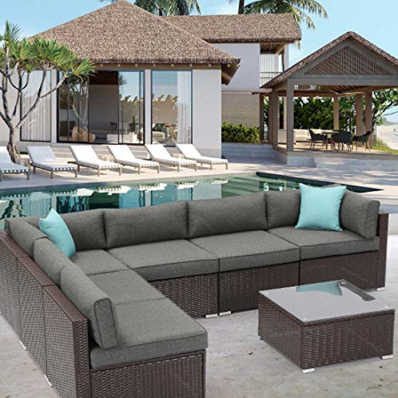 Wicker Patio Outdoor Furniture - dilutee.com