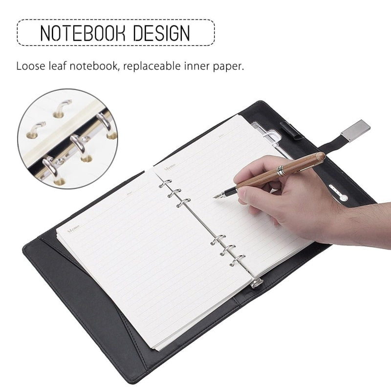 Wireless Charging Notebook - dilutee.com