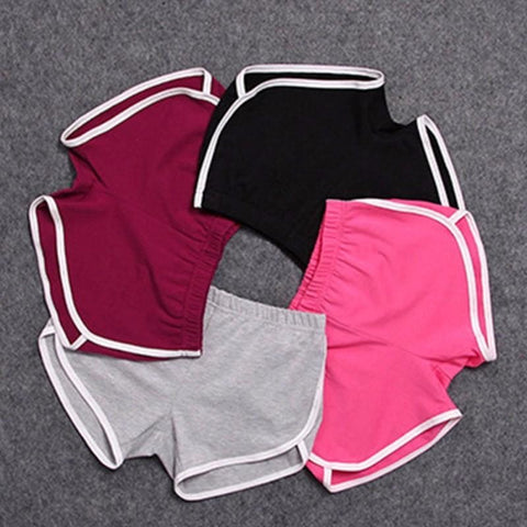 Women Casual Summer Shorts With Elastic Waist - dilutee.com