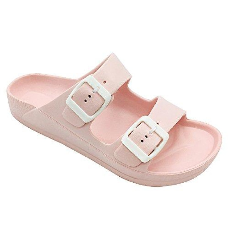 Women's Double Buckle Sandals - dilutee.com