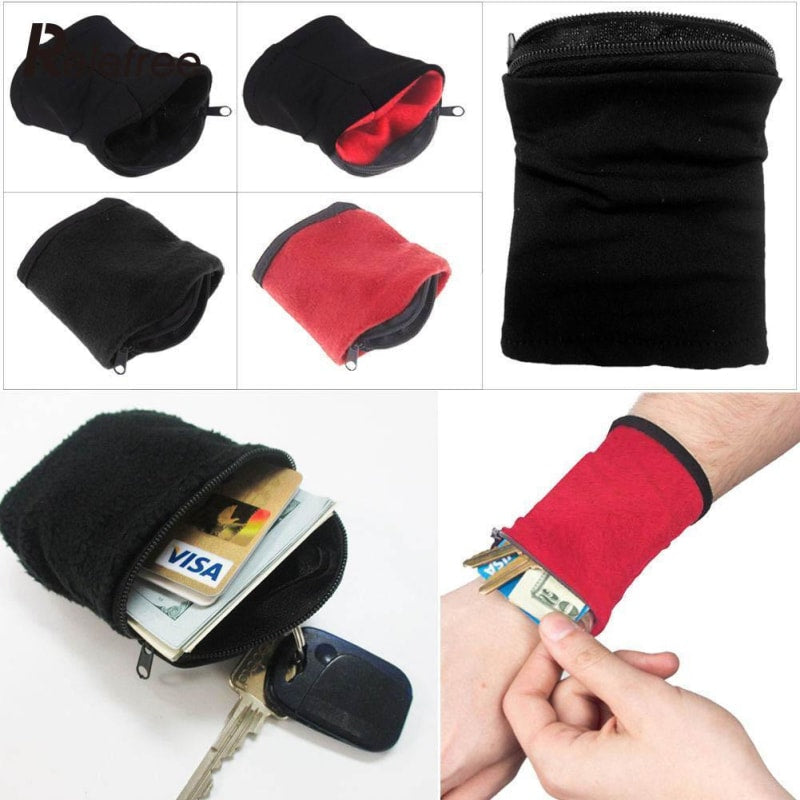 Wrist Wallet Pouch For Running And Travel - Dilutee.com