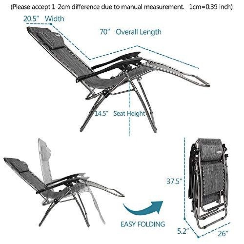 Zero Gravity Chair Lounger - dilutee.com