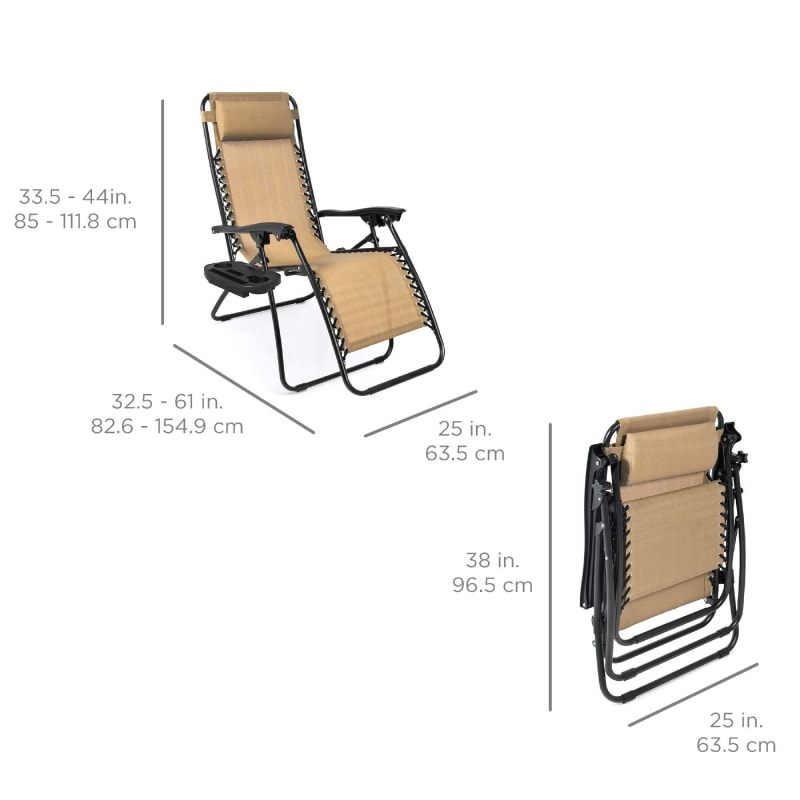Zero Gravity Chair With Cup Holder - dilutee.com