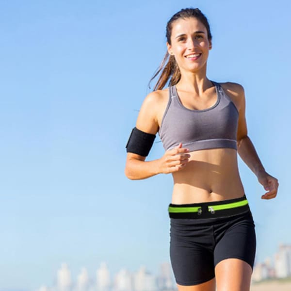 Dual Pocket Running Belt - Buy 1 Get 1 Free