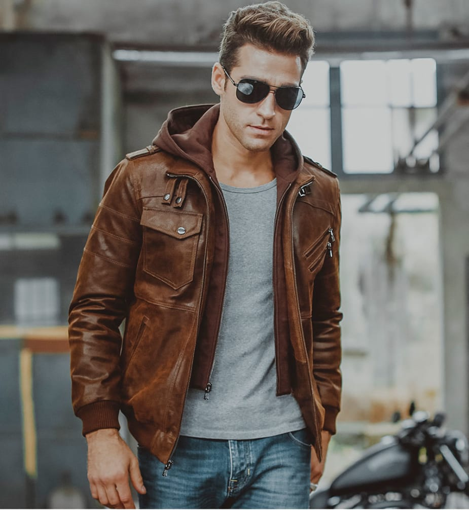 Men's Leather Jacket_dilutee.com