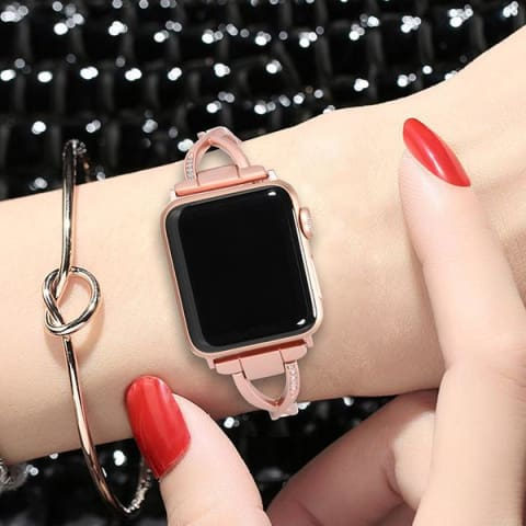 Women Watch Band Adjustable Compatible with Apple Watch Series 1 2 3Fitbit versa