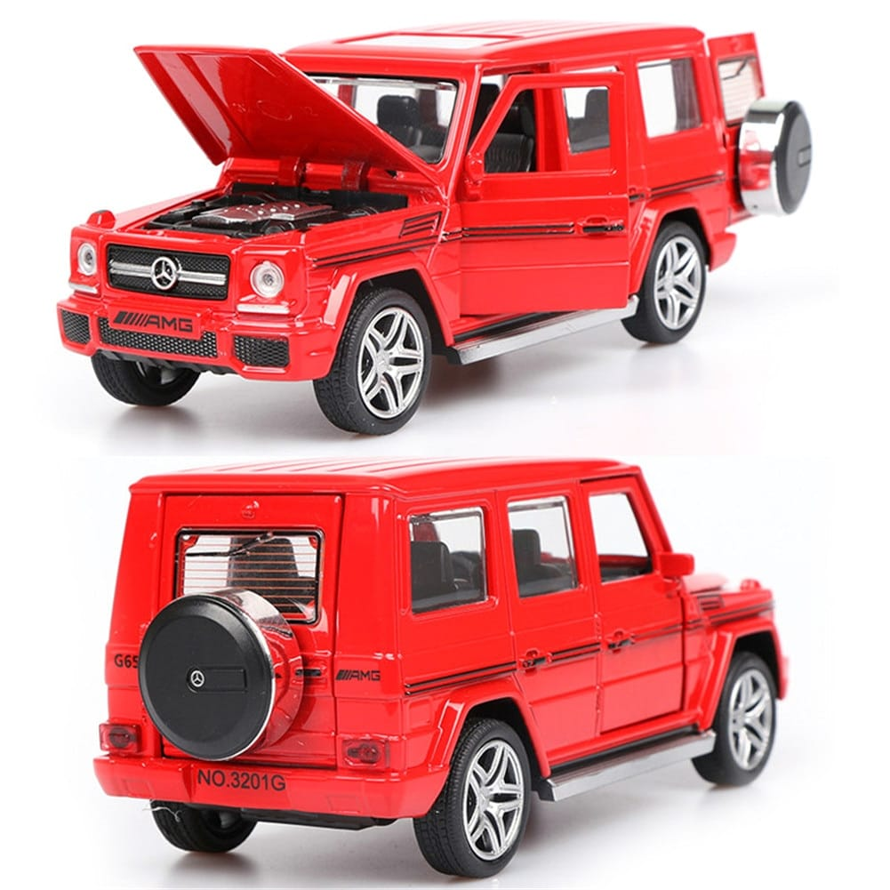 Pull Back Toy Car For Kids