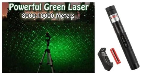 Tactical Green Laser Beam