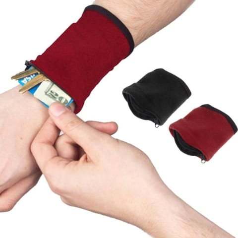 wrist wallet pouch for runners