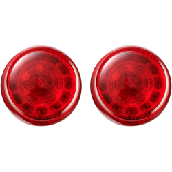 PROBEAM® LED Bullet Turn Signal Inserts Solid Red (1156 base)