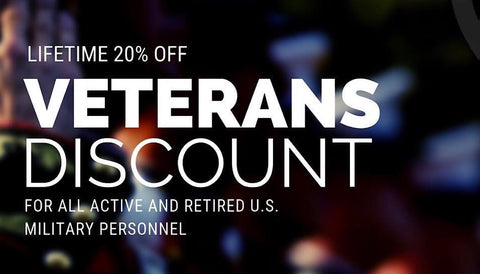 Veterans Military Discount CBD Oil
