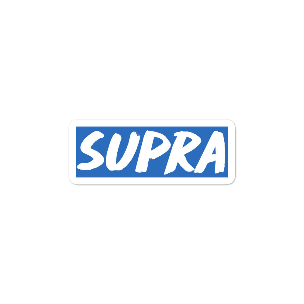 Supra Box Logo v2 Stickers