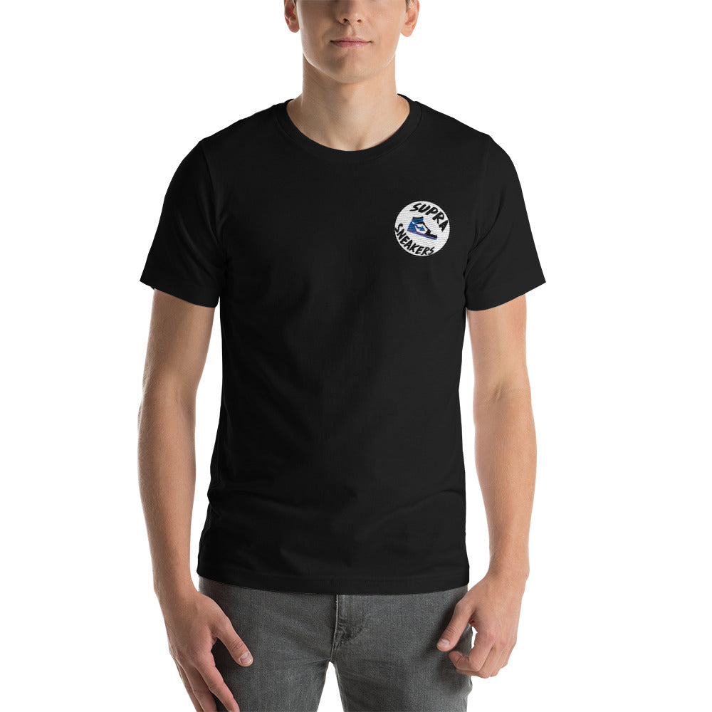 Supra Sneakers Embroidered Pocket Logo Tee