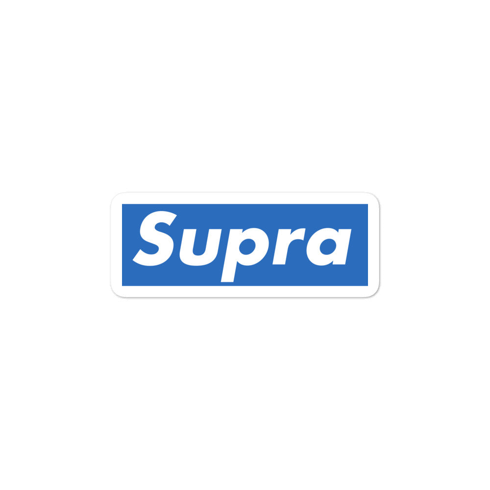 Supra Box Logo Stickers
