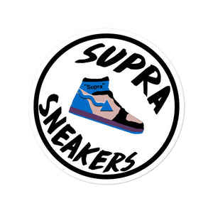 Supra Sneakers Logo Stickers