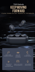 Supra Pods 3D Stereo Bluetooth Earphones Wireless Earbuds